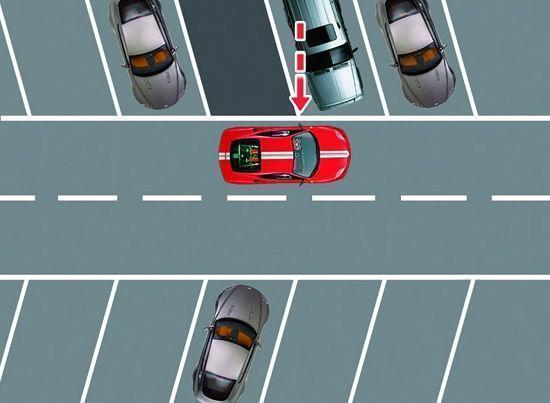 《3种最常见的车位倒库技巧,以后进任何车位那都不是事!》